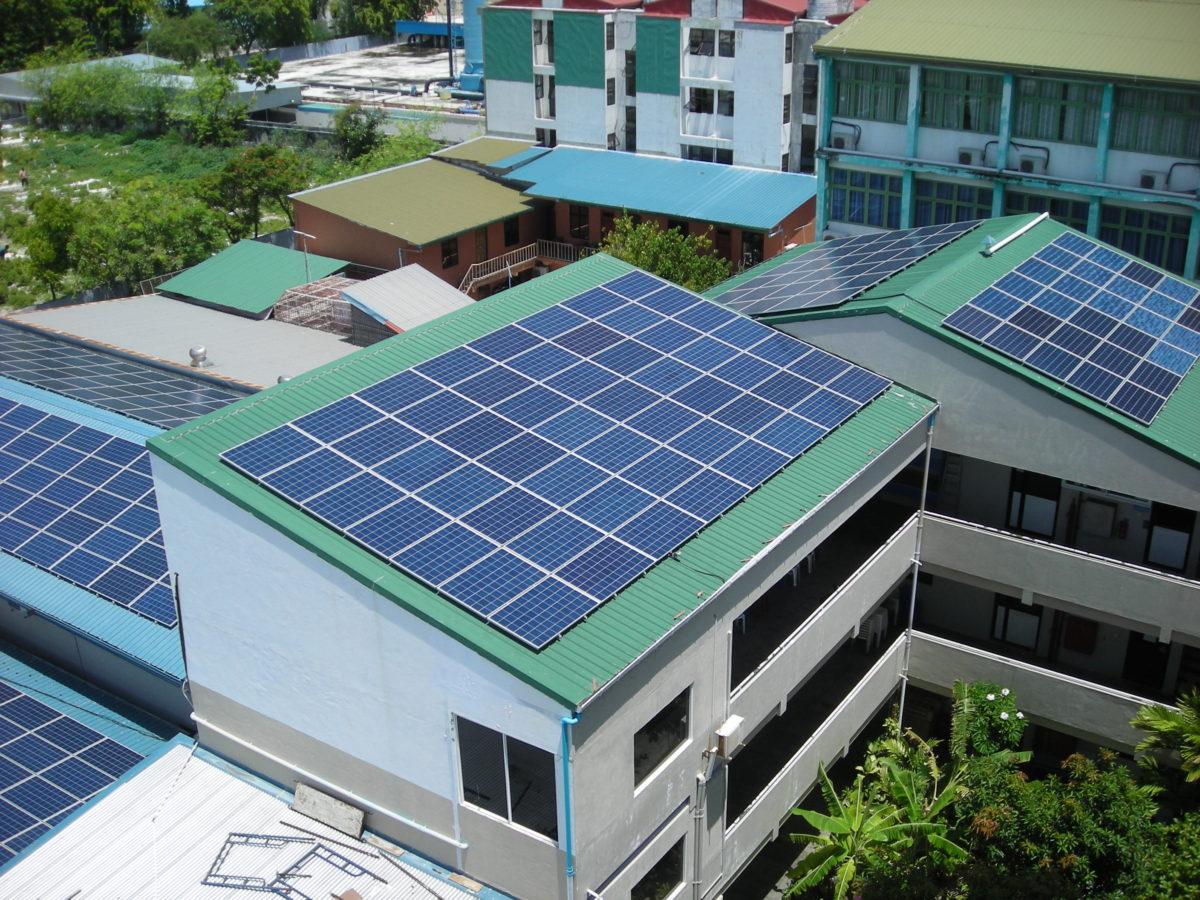 School Building Rooftop Solar Power Plant Project Jcm