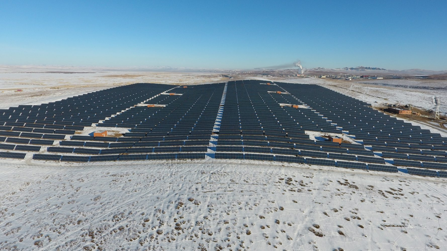 10mw Solar Power Project In Darkhan City Jcm The Joint Crediting Plant General Layout Related Photos