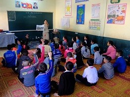 環境教育授業の支援